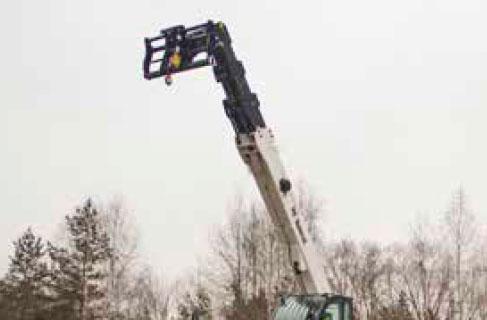 Bobcat Lasthaken Anbaugeraet für Teleskoplader
