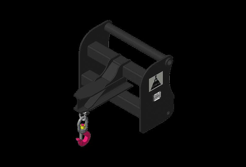 Bobcat Kranausleger Anbaugeraete für Teleskoplader