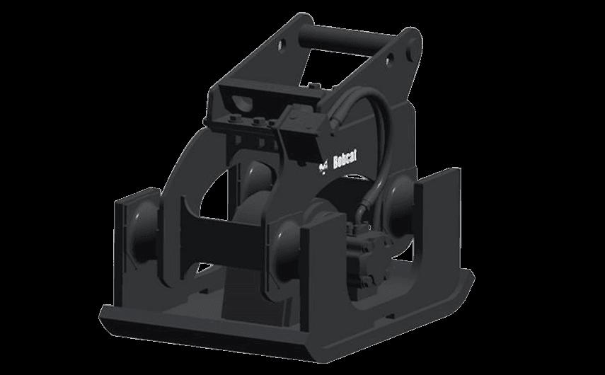 Bobcat Plattenverdichter Anbaugeraet für Minibagger und Kompaktbagger
