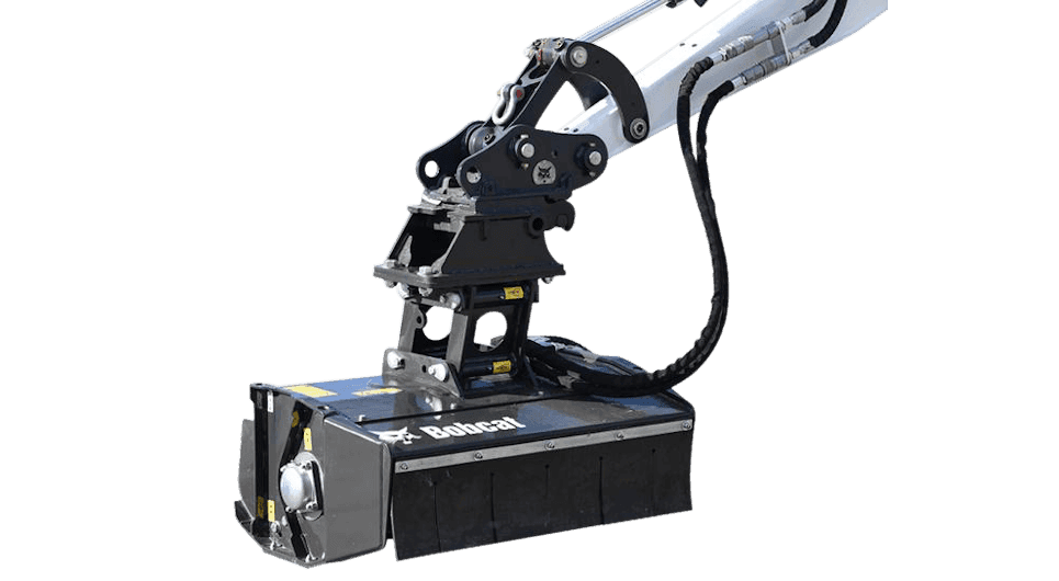 Bobcat Schlegelmäher Anbaugerät für Minibagger und Kompaktbagger