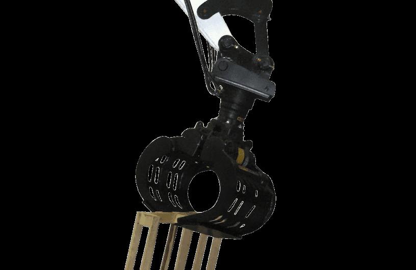Bobcat Sortiergreifer Anbaugerät für Minibagger und Kompaktbagger