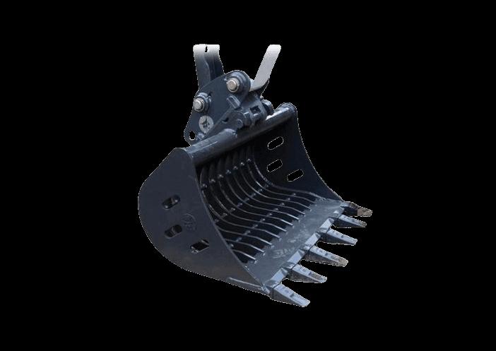Bobcat Gitterlöffel Anbaugerät für Minibagger und Kompaktbagger