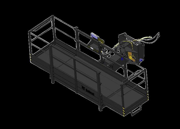 Bobcat Arbeitsbühne Anbaugerät für Teleskoplader